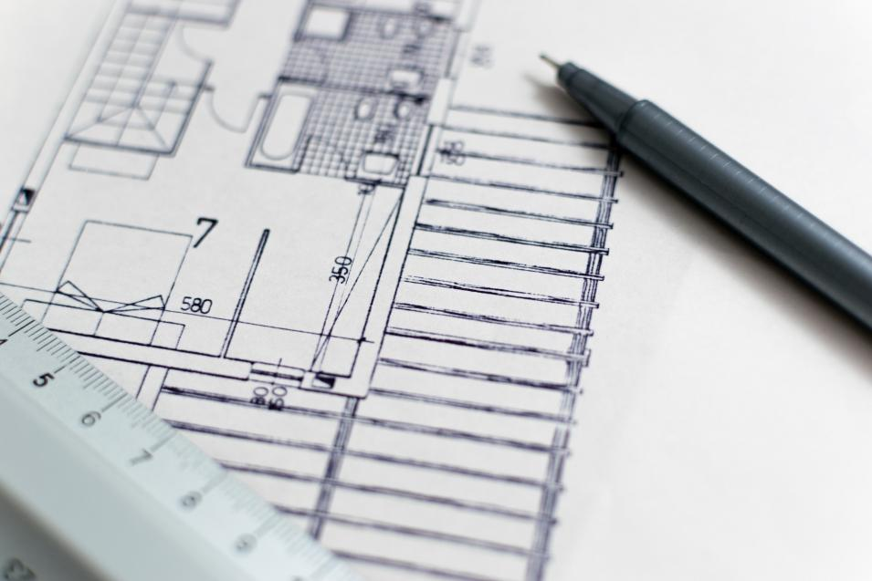 Blueprint of Building Design