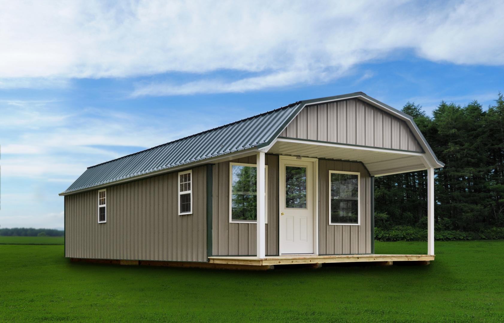Cabins & Man Caves - Raber Portable Storage Barns