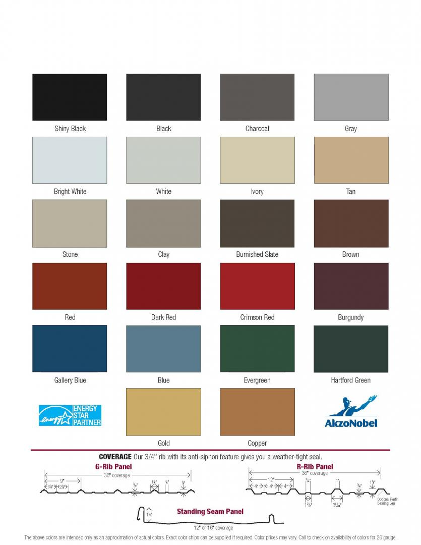 Color Selector Raber Portable Storage Barns
