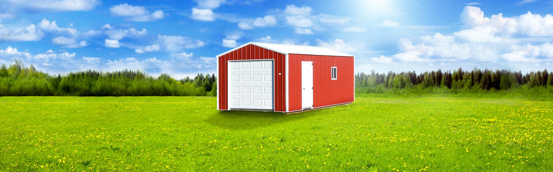 Garages | Raber Portable Storage Barns