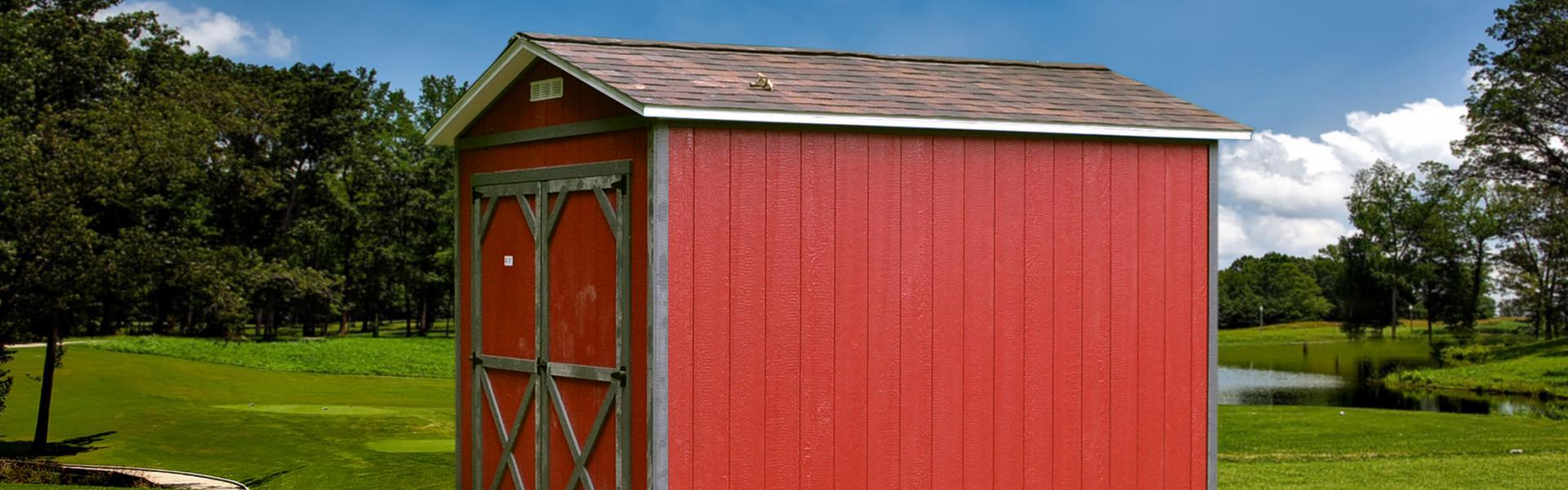 Painted Utility Sheds Raber Portable Storage Barns
