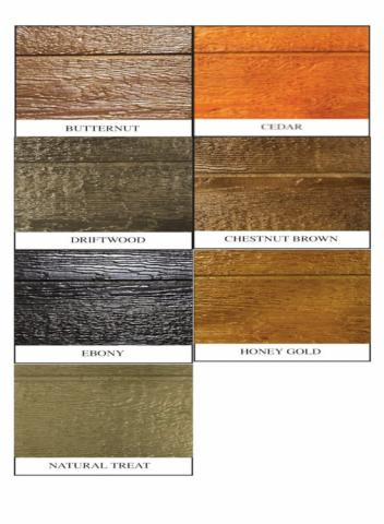 Urethane colors for Smart Siding