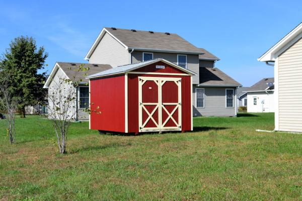 10×12 Painted utility shed