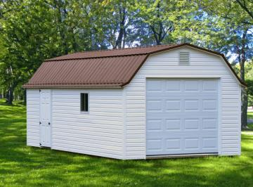 Lofted Vinyl Garage