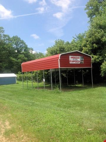 Carport for campers